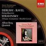 Alban Berg Quartet Great Recordings Of The Century: String Quartets/3 Pieces/Concertino/Double Canon
