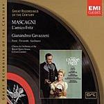 Gianandrea Gavazzeni Great Recordings Of The Century: L'Amico Fritz (Opera In Three Acts)