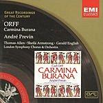André Previn Great Recordings Of The Century: Carmina Burana
