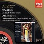 Otto Klemperer Great Recordings Of The Century: Ein Deutsches Requiem, Op.45
