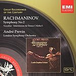 André Previn Great Recordings Of The Century: Symphony No.2/Vocalise/Aleko