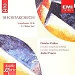 André Previn Symphonies Nos.10 & 13 'Babiy Yar'