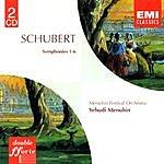 Yehudi Menuhin Symphony No.1 in D, D.82/Symphony No.2 in B-Flat, D.125/Symphony No.3 in D, D.200/Symphony No.4 in C-Minor, D.417/Symphony No.5 in B-Flat, D.485/Symphony No.6 in C, D.589