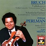 Itzhak Perlman Violin Concerto No.2/Scottish Fantasy