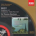 Sir Thomas Beecham Great Recordings Of The Century: Symphony in C Major/L'Arlesienne Suite Nos.1 & 2