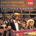 Christopher Parkening Concierto De Aranjuez/Fantasia Para Un Gentilhombre/Five Bagatelles