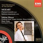 Sabine Meyer Great Recordings Of The Century: Clarinet Concerto in A Major/Sinfonia Concertante in E Flat Major