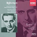 Dinu Lipatti Piano Concerto No.1 in D Minor/Piano Concerto No.1 in E Flat Major/Piano Concerto No.3