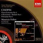 Maurizio Pollini Piano Concerto No.1/4 Nocturnes/Ballade No.1/Polonaise No.6