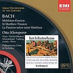 Otto Klemperer Great Recordings Of The Century: Matthaus-Passion 'St. Matthew Passion', BWV 244
