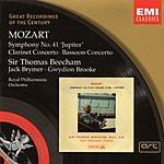 Sir Thomas Beecham Great Recordings Of The Century: Symphony No.41 'Jupiter'/Clarinet Concerto/Bassoon Concerto
