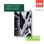 Adelphi Saxophone Quartet Simply Four Saxophones