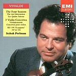 Itzhak Perlman The Four Seasons/3 Violin Concertos