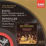 Charles Munch Great Recordings Of The Century: Bolero/Rapsodie Espagnole/Daphnis Et Chloe/Symphony No.2