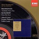 Alfred Cortot Great Recordings Of The Century: Piano Trio in B Flat Major/Piano Trio No.1 in B Flat