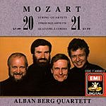 Alban Berg Quartet String Quartets Nos.20 & 21