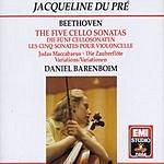 Jacqueline Du Pré The Five Cello Sonatas