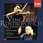 Maxim Vengerov Concerto Cantible/Violin Concerto/Serenade Melancolique