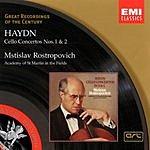 Mstislav Rostropovich Cello Concertos Nos. 1 & 2