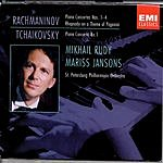 Mikhail Rudy Piano Concertos/Rhapsody On A Theme Of Paganini