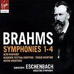 Christoph Eschenbach Symphonies 1-4/Alto Rhapsody/Academic Festival Overture/Tragic Overture/Haydn Variations