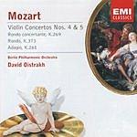 David Oistrakh 'Encore': Violin Concertos Nos.4 & 5/Rondo Concertante/Rondo/Adagio