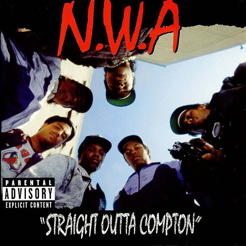 Cover Art: Straight Outta Compton (Parental Advisory)