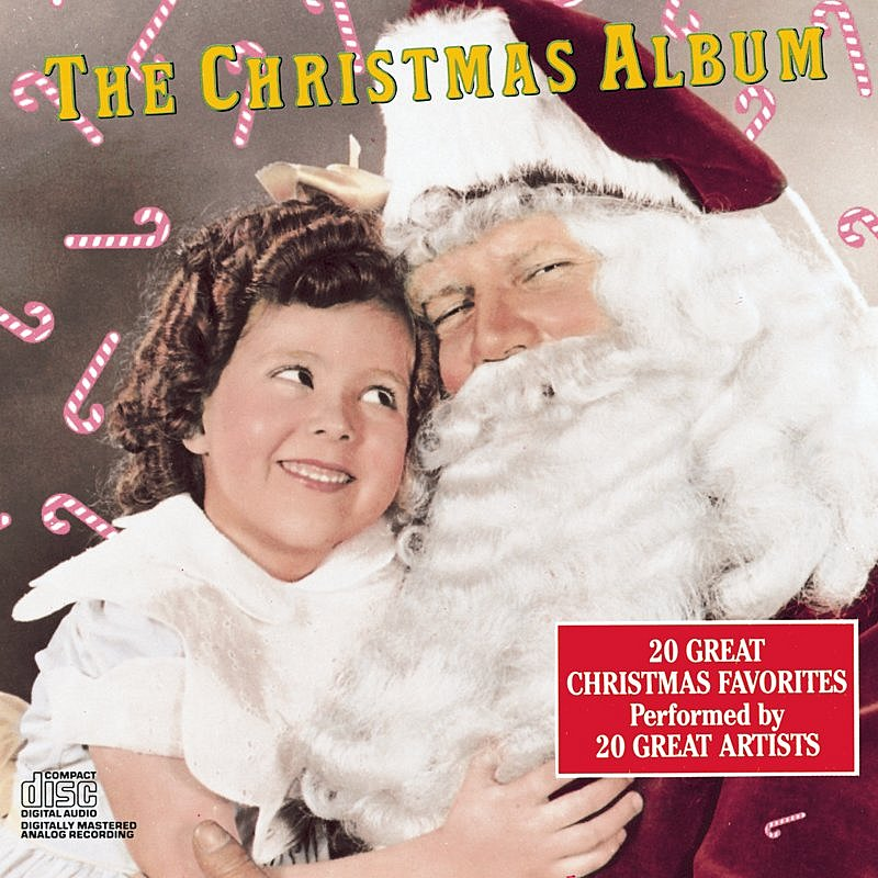 Cover Art: The Christmas Album: 20 Great Christmas Favorites Performed By 20 Great Artists
