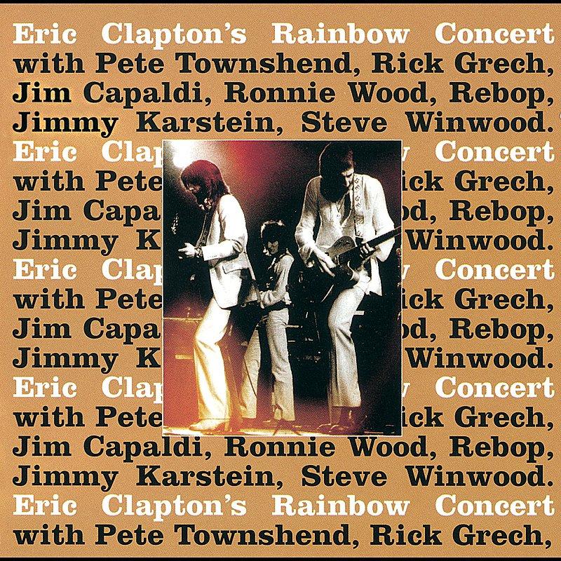 Cover Art: Eric Clapton's Rainbow Concert