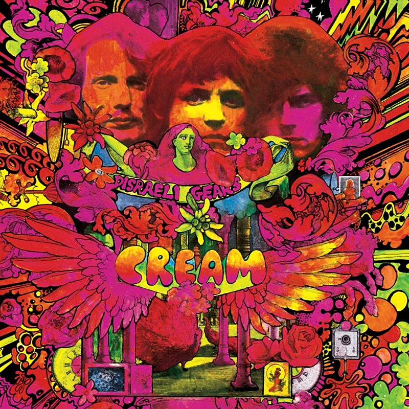 Cover Art: Disraeli Gears