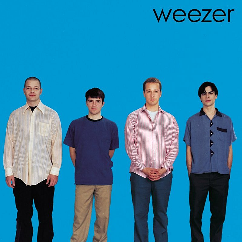 Cover Art: Weezer (Blue Album)