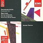 André Previn Symphonies Nos.4 & 5/Sinfonia Da Requiem/Four Sea Interludes & Passacaglia