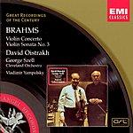 David Oistrakh Great Recordings Of The Century: Violin Concerto/Violin Sonata No.3
