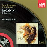 Michael Rabin Great Recordings Of The Century: 24 Caprices