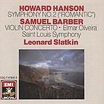 Leonard Slatkin Symphony No.2 'Romantic'/Violin Concerto