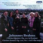 Johannes Brahms Clarinet Quintet, Op. 115 - Clarinet Sonata, Op. 120, No. 2