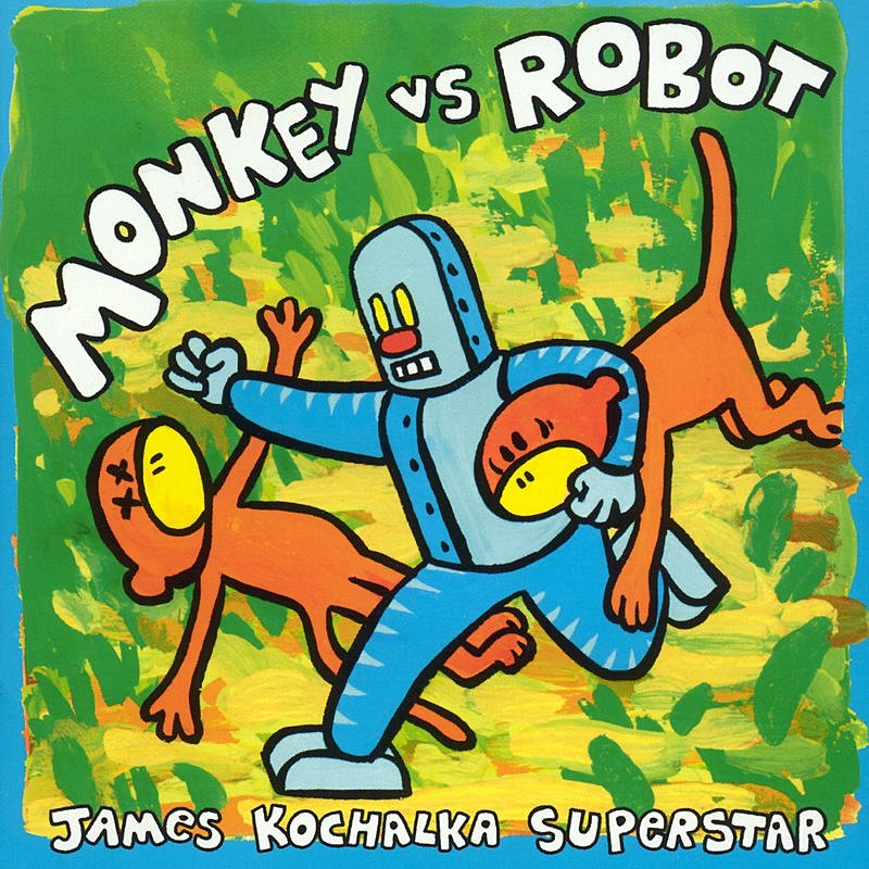 Cover Art: Monkey Vs. Robot