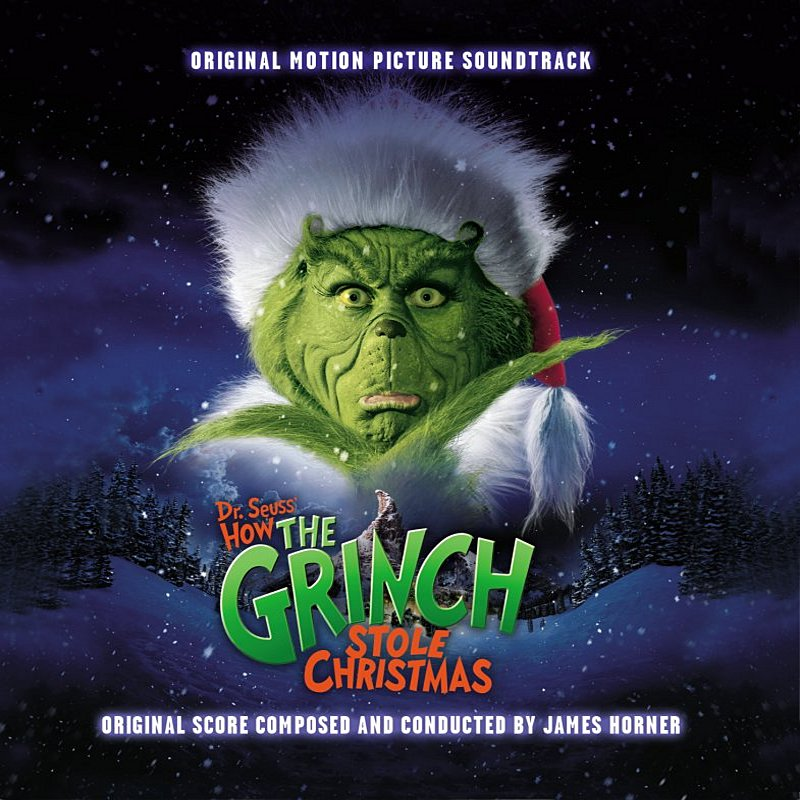 Cover Art: Dr. Seuss' How The Grinch Stole Christmas
