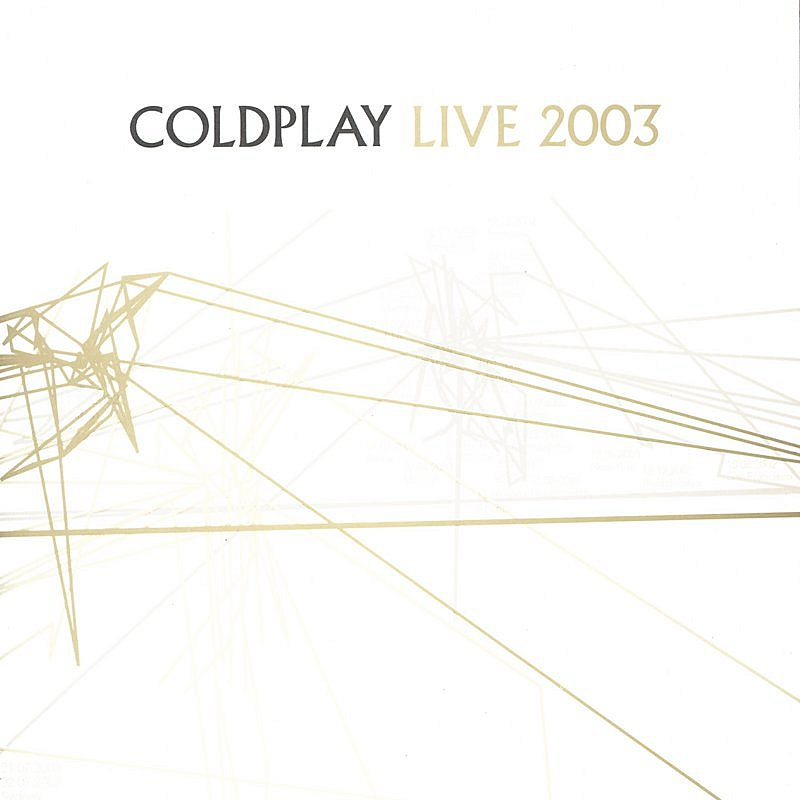 Cover Art: Coldplay Live 2003