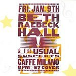 Beth Raebeck Hall Live At Caffe Milano