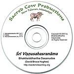 Bhaktisiddhartha Dasanudas Sri Visnusahasranama
