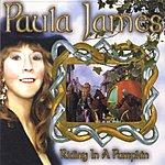 Paula James Riding In A Pumpkin