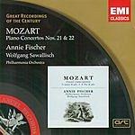 Wolfgang Amadeus Mozart Great Recordings Of The Century: Piano Concertos Nos.21 & 22
