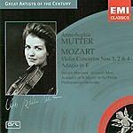 Anne-Sophie Mutter Great Artists Of The Century: Anne-Sophie Mutter: Mozart Violin Concertos Nos. 1,2 & 4
