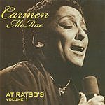 Carmen McRae At Ratso's, Vol.1