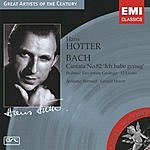 Hans Hotter Great Artists Of The Century: Hans Hotter- Bach: Cantata No.82 'Ich Habe Genug'