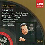 Carlo Maria Giulini Great Recordings Of The Century: Symphony No.4/Tragic Overture/Variations On A Theme By Haydn