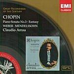 Claudio Arrau Great Recordings Of The Century: Piano Sonata No.3 & Fantasy Etc.