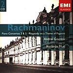 Andrei Gavrilov Gemini - The EMI Treasures: Rachmaninov: Piano Concertos 2 & 3/Rhapsody On A Theme Of Paganini