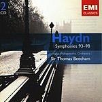 Sir Thomas Beecham Gemini - The EMI Treasures: Haydn: Symphonies 93-98